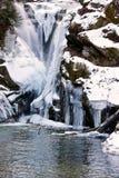 замороженный водопад Стоковые Фотографии RF