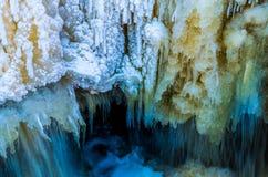 замороженный водопад Стоковое Изображение RF