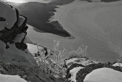 Замороженный лед Стоковое Изображение