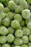замороженный зеленый горох Стоковые Фотографии RF