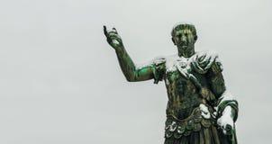 Замороженный император Trajan стоковая фотография