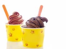 Замороженный йогурт стоковая фотография rf