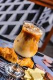 Замороженный кофе капучино Стоковое Изображение RF