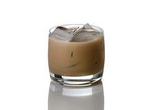 Замороженный кофе с спиртом готовым для того чтобы выпить Стоковые Фото