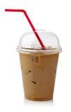 Замороженный кофе стоковая фотография