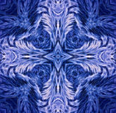 Замороженный крест Стоковые Изображения