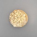 Замороженный мини бейгл пиццы сыра на лотке выпечки Стоковые Изображения