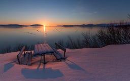 Замороженный мир Стоковая Фотография RF