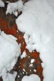 замороженный поток Стоковые Фотографии RF