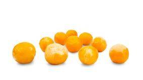 Замороженный плодоовощ в холодильнике, вишн-слива Стоковые Изображения