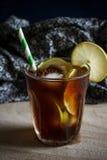замороженный чай лимона Стоковое Фото