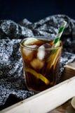 замороженный чай лимона стоковые изображения