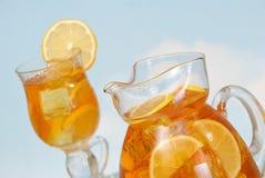 замороженный чай лета Стоковые Фотографии RF