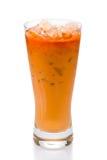 замороженный чай тайский Стоковые Фото