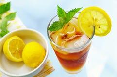 замороженный чай Стоковое Изображение