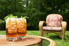 замороженный чай Стоковое Фото