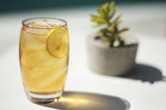 замороженный чай Стоковые Изображения