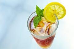 замороженный чай mnt лимона Стоковая Фотография RF