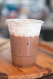 Замороженный шоколад с молоком Стоковая Фотография
