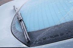 замороженный windscreen Стоковое Изображение