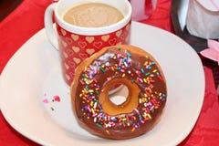 2 замороженных donuts Стоковые Фото