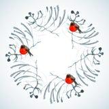 Заморозок акварели бесплатная иллюстрация
