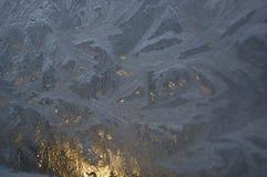 Заморозок на окне Стоковые Изображения RF