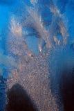 Заморозок на стекле Стоковые Фотографии RF