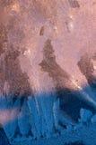 Заморозок на стекле Стоковое Изображение RF