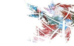 Заморозок фрактали на стекле бесплатная иллюстрация