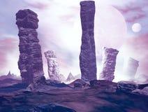 Заморский ландшафт Стоковое фото RF