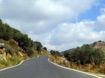 замотка дороги Стоковое фото RF