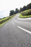 замотка проселочной дороги Стоковое Изображение