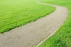 замотка путя сада зеленая Стоковое Изображение RF