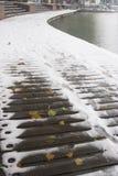 замотка снежка дороги Стоковое Фото