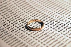 замужество влюбленности Стоковые Фото