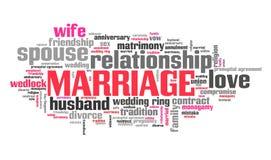 замужество Стоковое Изображение