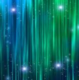 Занавесы с Sparkle бесплатная иллюстрация