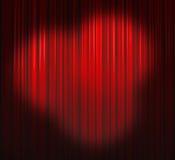 занавес глубоко - красный цвет пятнает 3 Стоковая Фотография RF