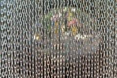 Занавес звена цепи Стоковое фото RF