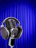 занавес mic Стоковое Изображение RF