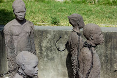 Занзибар, каменный городок Холопки памятника измождённые Стоковые Фотографии RF