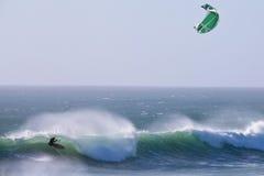 заниматься серфингом змея Стоковое фото RF