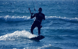 заниматься серфингом змея Стоковое Изображение