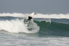 заниматься серфингом Франции Стоковая Фотография