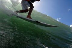 заниматься серфингом стоковое изображение