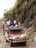 заниматься серфингом jeepney Стоковые Изображения