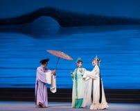 """Занимать  Opera""""Madame белое Snake†зонтика-Kunqu Стоковые Изображения"""
