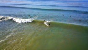 Занимаясь серфингом скалы Palos Verdes Стоковая Фотография