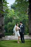 Заново пары Wed Стоковые Изображения